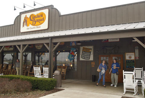 cracker barrel restaurant memphis tennessee