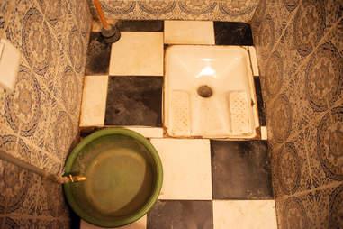 morocco moroccan toilet
