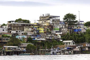 brazilian slum brazil south america