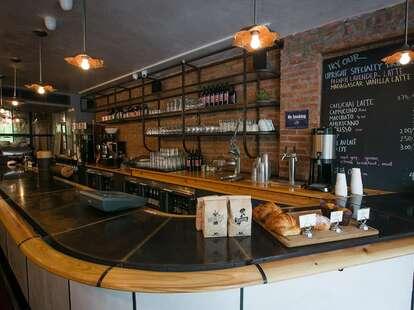 Upright Brew House bar new york thrillist