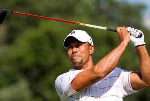 Tiger Woods majestic golf swing