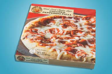 Trader Joe's uncured pepperoni pizza