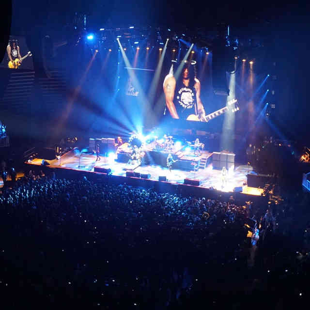 Welcome to the Jungle: A Night With Guns N\' Roses at the New Las Vegas Arena