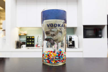 Alcohol Bottle Fish Tank