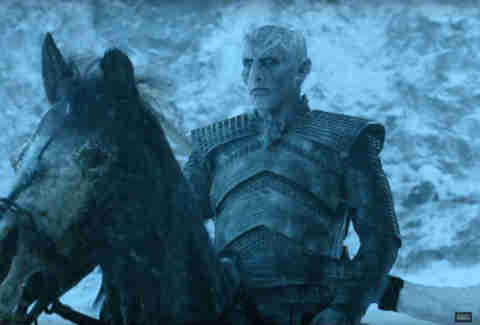 the night's king white walker game of thrones season 6