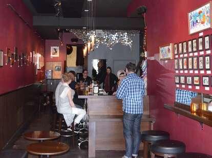 Inside Mini Bar