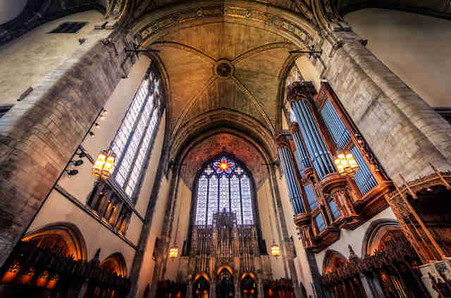 Rockefeller Memorial Chapel at the University of Chicago