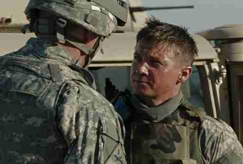Jeremy Renner and the cast of The Hurt Locker