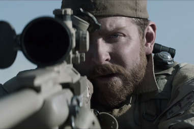 Bradley Cooper and the cast of American Sniper