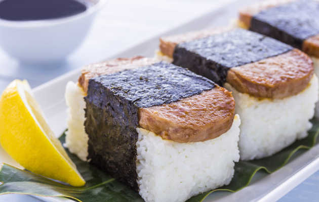 Honolulu's Best Musubi, Hawaii's Delicious Rice and Seaweed Snack