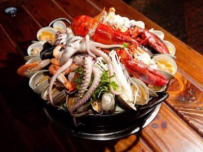 Sik Gaek Flushing seafood bucket thrillist