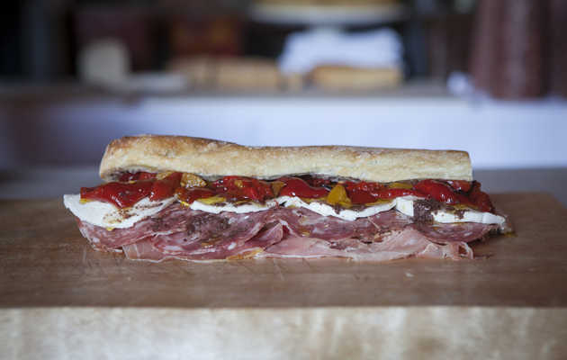 We Threw a Stacked Celebration of Sandwiches in NYC