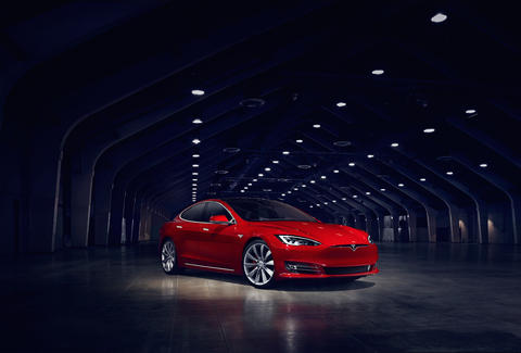 The refreshed Tesla Model S