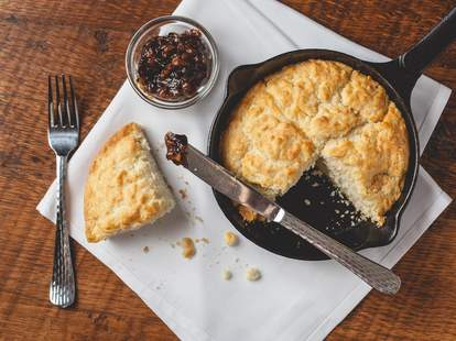 The Asbury buttermilk biscuits