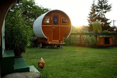 Gypsy wagon airbnb