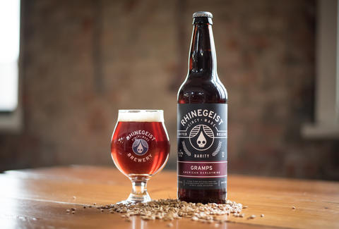 RHINEGEIST BREWING glass bottle ohio thrillist