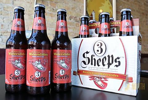3 Sheeps Brewing Company bottles wisconsin thrillist