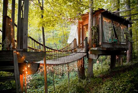 secluded intown treehouse courtesy of airbnb - Pictures Of Tiny Houses