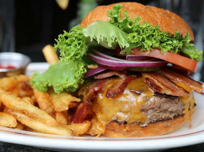 White Star burger and fries thrillist