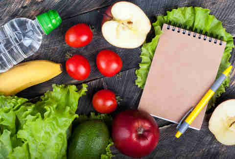 food planning meal journal healthy food