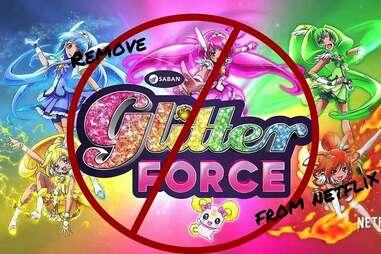 glitter force netflix
