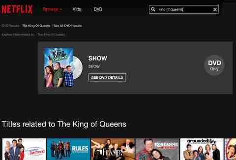 king of queens on netflix