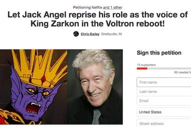king zarkon voltron reboot