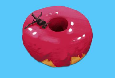 Hibiscus Doughnut, Dough