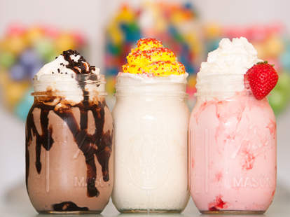 The Pop Shop, milkshakes