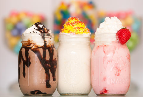 The Pop Shop, milkshakes