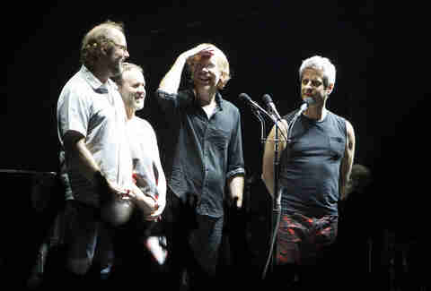 Page McConnell, Jon Fishman, Trey Anastasio, and Mike Gordon Phish