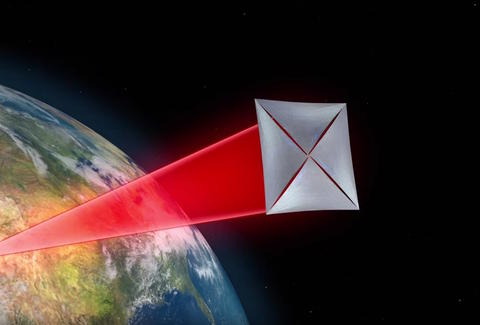 screenshot of breakthrough starshot video