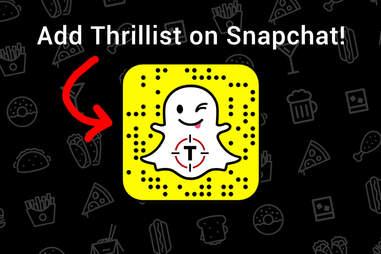 snapcode THRILLIST snapchat