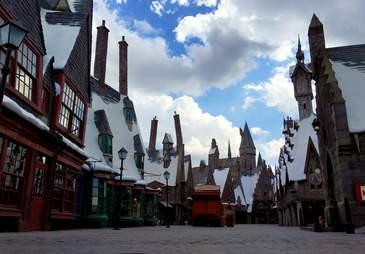 wizarding world of harry potter, hogsmeade village