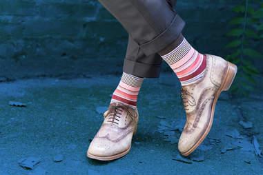 patterned socks women judge men's summer fashion