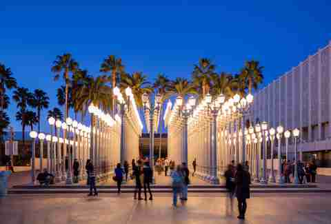 people at lacma los angeles museum art