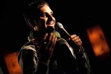 Aziz Ansari at Irish Exit