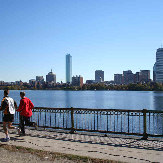 If You Aren\'t Working Out Along the Charles, You\'re Doing It Wrong