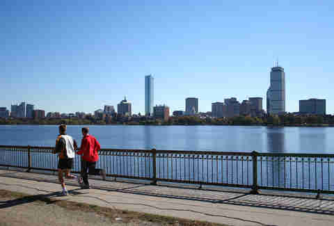 If You Aren't Working Out Along the Charles, You're Doing It Wrong