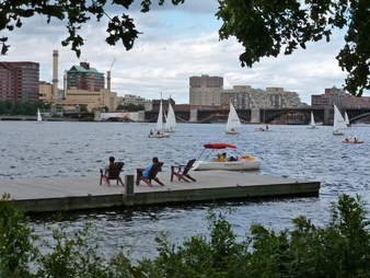 river dock, the charles, boston