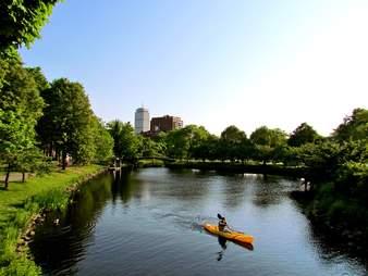 Boston, Charles RIver, ?Boston University Sailing Pavilion