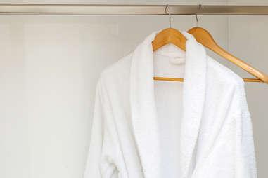 hotel bathrobe