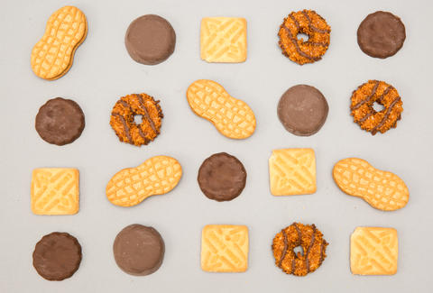 cookies, store-bought cookies, girl scout cookies