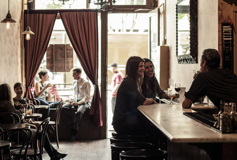Two Sisters Bar and Books: A San Francisco, CA Bar.