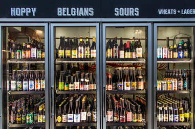 beer, beer fridge, liberty public market