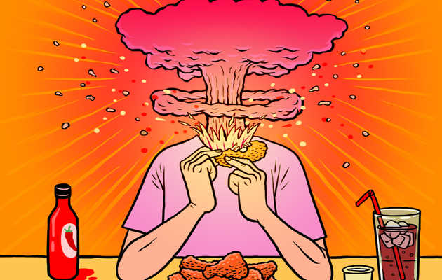 Everything That Happens to Your Body On Hot Sauce