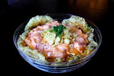 fish bowl at seadog sushi