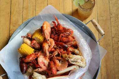 seafood at Lowcountry
