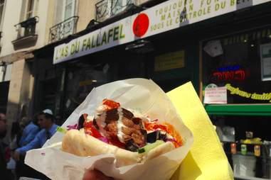 falafel from L'As du Fallafel in Paris