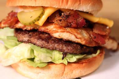 Barnyard Burger at M Burger